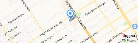 Седьмой офис на карте Барнаула