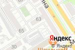 Схема проезда до компании Прогресс в Барнауле