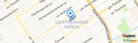 Церковная лавка на карте Барнаула