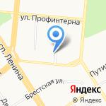 Алтайская краевая офтальмологическая больница на карте Барнаула