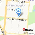 Алтайпромснаб на карте Барнаула