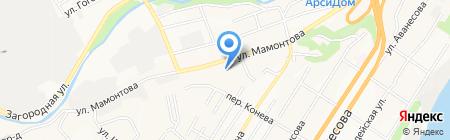 Торгово-ремонтная компания на карте Барнаула
