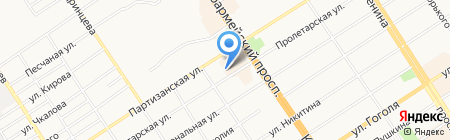 Лизинговая компания УРАЛСИБ на карте Барнаула