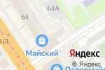 Схема проезда до компании Алтайские закрома в Барнауле