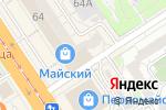 Схема проезда до компании Тарелка в Барнауле