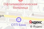 Схема проезда до компании Люкс в Барнауле
