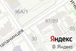 Схема проезда до компании Салон-студия Людмилы Тарасовой в Барнауле