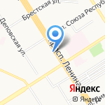 Прогресс на карте Барнаула