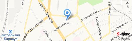 Озарение на карте Барнаула