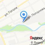 Партнер КС на карте Барнаула