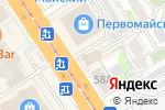 Схема проезда до компании Алтайский институт финансового управления в Барнауле