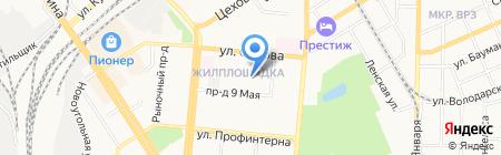 Кожно-венерологический диспансер г. Барнаула на карте Барнаула