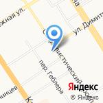 АлтайДАЙВ на карте Барнаула