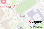 Схема проезда до компании Exotic & Flowers в Барнауле