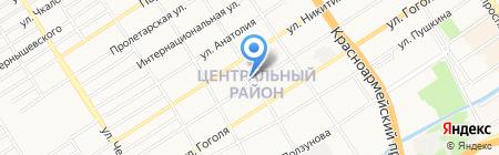 Барнаульская Православная Духовная семинария на карте Барнаула