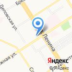 Межрегиональное объединение проектировщиков на карте Барнаула