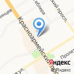 O`Stin на карте Барнаула