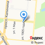 Алтайская Финансовая Группа на карте Барнаула