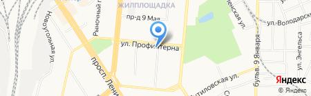 Ломбард Мак-Дак на карте Барнаула