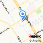 Научно-образовательный центр геоинформационных технологий на карте Барнаула