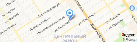 Новые-спецтехнологии на карте Барнаула