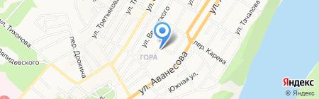 Сервис RENAULT на карте Барнаула
