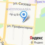 Юридическая компания на карте Барнаула