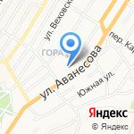 СДЮСШОР №2 г. Барнаула на карте Барнаула