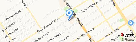 Алтайская коллегия Сибирского окружного третейского суда на карте Барнаула