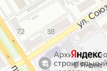 Схема проезда до компании 5я Авеню в Барнауле