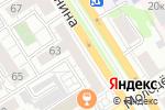 Схема проезда до компании Лабиринт Минотавра в Барнауле