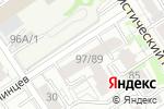 Схема проезда до компании Ракушка в Барнауле