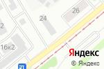 Схема проезда до компании Ай Ти в Барнауле