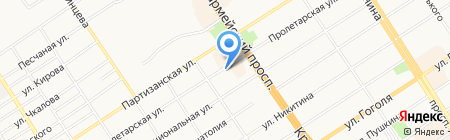 DiVan на карте Барнаула
