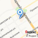 Барнаульские асбестотехнические изделия на карте Барнаула