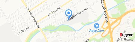 Сибирская строительно-монтажная компания на карте Барнаула