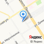 Уполномоченный при Губернаторе Алтайского края по правам ребенка на карте Барнаула