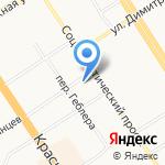 Эйдинг на карте Барнаула