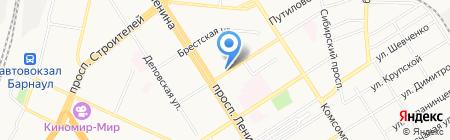 Де-юре на карте Барнаула