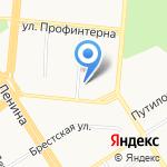 ExMail на карте Барнаула