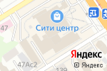 Схема проезда до компании Trendy в Барнауле