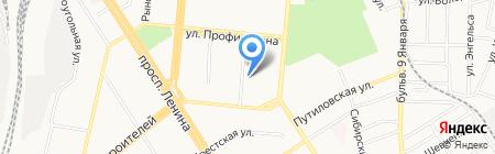 Алтайская краевая общественная организация любителей книги на карте Барнаула