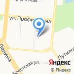 Интерьер Строй на карте Барнаула
