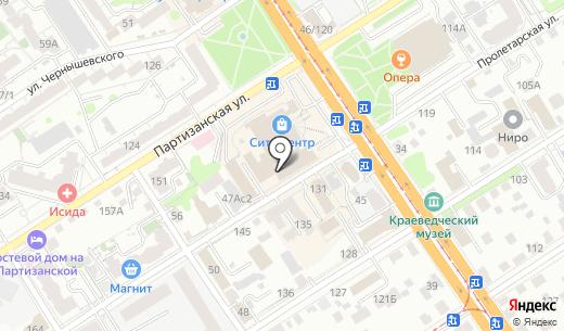 City Hall. Схема проезда в Барнауле