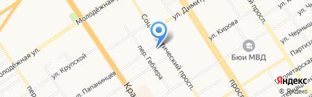 Stefan на карте Барнаула