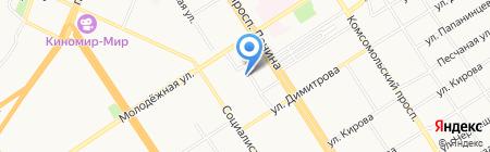Избирательная комиссия Алтайского края на карте Барнаула