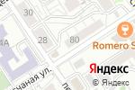 Схема проезда до компании Букетная в Барнауле