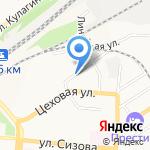 Автолига на карте Барнаула