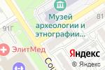 Схема проезда до компании Звезда в Барнауле