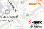 Схема проезда до компании РСОО Федерация фехтования Алтая в Барнауле